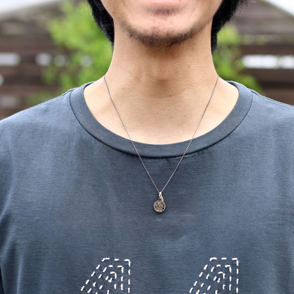 【ampjapan:アンプジャパン】11AD-891TRIPSMILEMALIACOINNECKLACE[トリップスマイルコインネックレス]