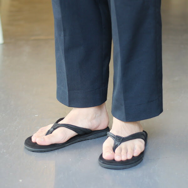 【Mr.OliveE.O.I:イーグルオブインデペンデンス】ME-821WATERPROOFSHRINK×NUBUCKLEATHER/SUPERCUSHIONTONGSANDAL【smtb-TK】