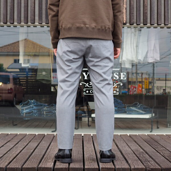 【MR.OLIVE:ミスターオリーブ】M-17327T/RSTRETCHSAGE/ANKLECUTEASYSLACKS【smtb-TK】