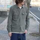 【REMI RELIEF:レミレリーフ】RN2008SDAミリタリーシャツ(花スタッズ)【smtb-TK】