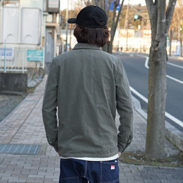 【REMIRELIEF:レミレリーフ】RN2008SDAミリタリーシャツ(花スタッズ)【smtb-TK】