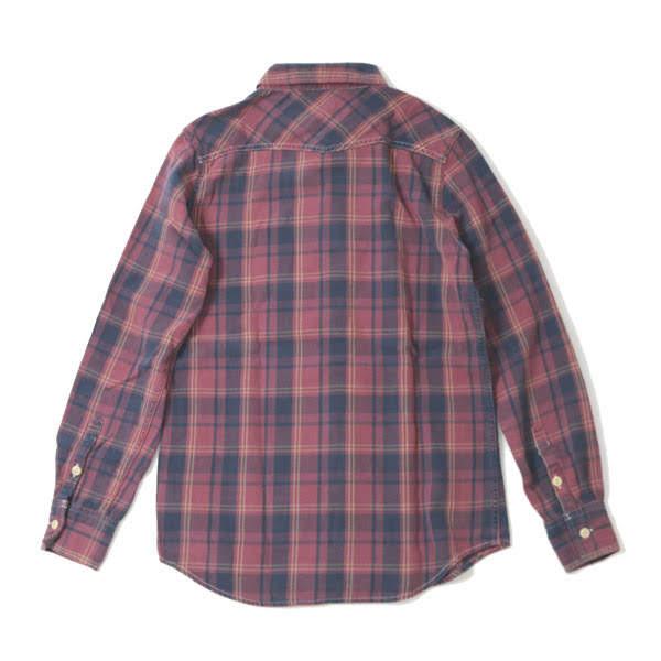 【REMIRELIEF:レミレリーフ】RN18233166チェックレギュラーシャツ【smtb-TK】