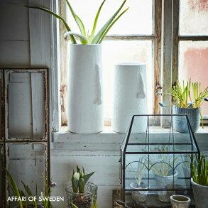 affari花瓶フラワーベーステラコッタ大きい23cmx42cmおしゃれ北欧大型花器丸型枝物シンプル植物のある暮らしモダン大きなインテリアドライフラワー観葉植物かわいい鉢