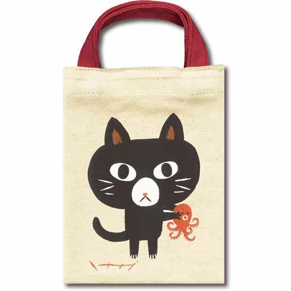 產品詳細資料,日本Yahoo代標 日本代購 日本批發-ibuy99 包包、服飾 包 箱包配件 袋組織者/袋中袋 見つめる愛で 糸井忠晴 ねこバッグ「マロン」ミニバッグ バッグインバッグ 猫