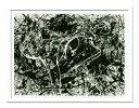絵画 抽象 モダン Jackson Pollock/Number 33 ポロック 絵 おしゃれ 壁掛け インテリア 壁絵 アート 有名 MOMA 北欧 北欧 サロン ヴィラ モデルハウス 海外インテリア