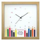 時計壁掛け【子供向けギフトに】【かわいい掛け時計壁掛け時計とけい壁飾り人気ナチュラルカラー】子供部屋やプレゼントにも♪[D]