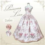 お花柄和柄シンプルドレス♪7−9号-11号-13号ロングドレス0501