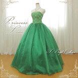 カラードレス(50555)緑色