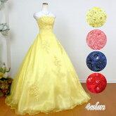 カラードレス♪ビーズ刺繍がキレイ!54001