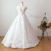 ウエディングドレス(オフホワイト)20118
