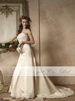 Custom wedding dress ★ A line ★ et022