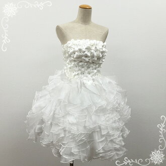 Wedding dress embroidered mini white white wedding dress minidress for party dresses too! No. 7-9 off white 51081