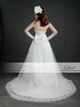 ウェディングドレス(オフホワイト)tb528