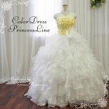 ウェディングドレス(オフホワイト)54641