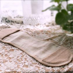 有機棉布100%衛生棉墊月神天使日本製造|多達內部內衣騎士服裝女子的內部小東西吊帶墊襯布餐巾布餐巾女士棉100%月經機會的餐巾[M:1/3]點數10倍