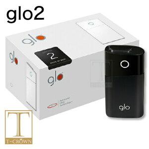グロー リッチ ブラック シリーズ2  電子タバコ スターターキット 本体《gloがデザインを一新》して新登場!  【新型】【新品】【正規品】
