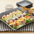 角皿 黒マット スクエアプレート L (inBASIC BLACK)大皿/カフェ食器/パーティー皿/黒いお皿/スクエア/盛り皿