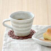 コーヒー ボーダー マグカップ