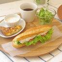 【20%OFF】木のぬくもり。おうちカフェにおすすめ。木製 33.5cm 丸トレー木のトレイ/ナチュ...
