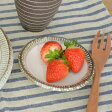 (渕錆粉引) 小皿    小皿/和の小皿/ナチュラル/ミニプレート/しょうゆ小皿/カフェ食器