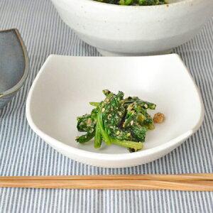 【大人気!おすすめ食器】【61%OFF】使いやすい、シンプル和食器和のスクエア小鉢(白萩) 和...