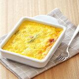ホワイトトースタープレート(ウェーブ)白い食器/トースター用/耐熱食器/オーブンウェア/調理器具/簡単調理/