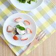 小皿 軽くて扱いやすい!軽量磁器プレート(SS) 12cm小皿/シンプルな小皿/白い食器/軽いお皿/洋食器/ポーセリンアート