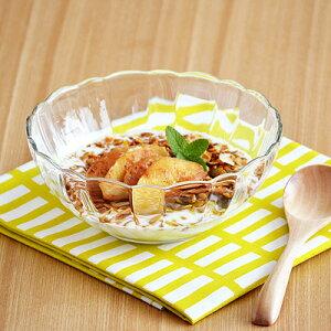 アルカド ボウル 15cm中鉢 副菜鉢 サラダボウル フルーツボウル シリアルボウル ボウル ガラス製カフェ食器 ガラスの食器 おしゃれ カフェ風 かわいい