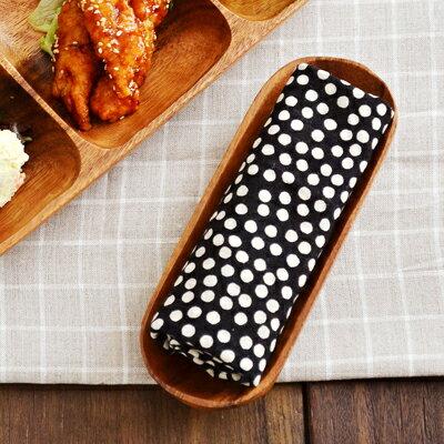 木製 アカシアプレート おしぼり皿
