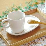 コーヒーカップ&たまご型ソーサー(アイボリー)マグ カップ コーヒーカップ ティーカップ シンプル セット食器 ナチュラル食器