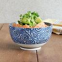 どんぶり(古染たこ唐草)おこのみ丼ぶり(小)どんぶり 麺鉢