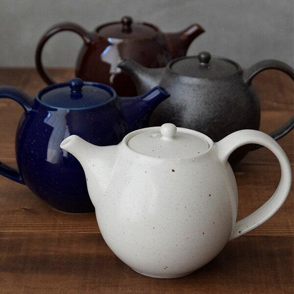 ポット急須 520cc 丸型(茶こしなし) 和食器 急須 茶器 ティーポット 紅茶 日本茶 食器 モダン 和モダン 和風 カラフルな食器 おしゃれ カフェ食器