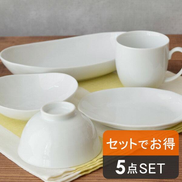 日本製 白い食器 5点セット
