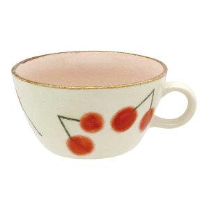 スープカップ サクランボ recolte(レコルト)スープボウル スープマグ カフェオレボウル カフェ食器 コップ さくらんぼ カップ 和カフェ おうちCafe モダン 和モダン おしゃれ