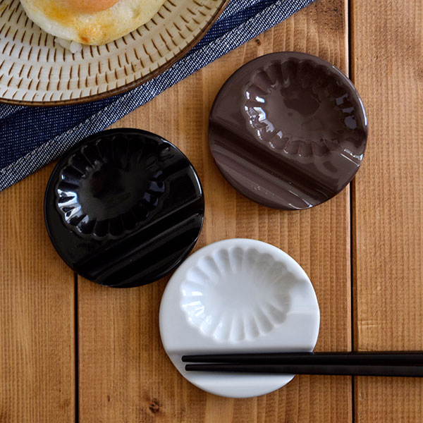 テーブルウェアイースト『小皿になる箸置き和花箸置き&スプーンレスト』