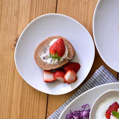 白い食器 和食器 和角シリーズ 取り皿(白) 16cm