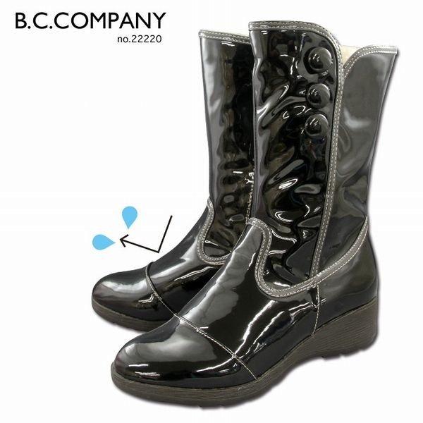 レインブーツレインシューズブーツレディースシューズレディースファッション靴雨の日オシャレエナメル調おしゃれデザイン防水設計防水シ