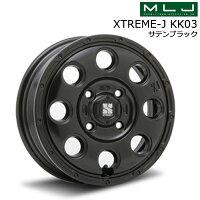 ファルケンジークスZE914F165/60R14&(MLJ新製品)エクストリームJKK03(サテンブラック/サテンブラックミルド)