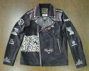 HYSTERIC GLAMOURヒステリックグラマーCR/CR PATCH RIDERSライダースJK02182AB06