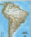 ウォールマップの基本形、南アメリカ版!【南アメリカ・ウォールマップ South America Wal Map】