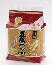 山口とくぢ味噌特撰麦つぶ味噌750g【徳地みそ】