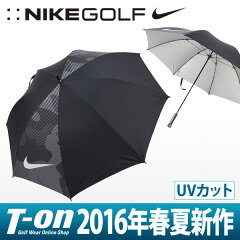 ナイキ/ナイキゴルフ/傘 アンブレラ UVカット ゴルフ用パラソル 日傘 雨傘 晴雨兼用 UV…