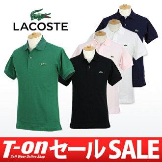 拉科斯特/拉科斯特日本正規的物品/開領短袖襯衫短袖開領短袖襯衫S~3L優質的棉100%小鹿材料鱷魚徽章被繼續愛的杰作LACOSTE拉科斯特日本正規的物品高爾夫球服裝