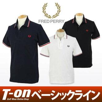 弗雷德 · 佩里弗雷德 · 佩里馬球襯衫短袖 polo 衫高品質 100%棉 polo 衫與材料標誌繡有 M12
