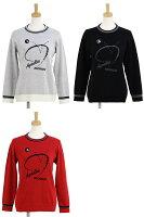 ブラック&ホワイトのセーター画像