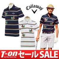 キャロウェイアパレル/キャロウェイゴルフの半袖ポロシャツ画像