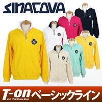 シナコバ×ジェノバのハーフジップセーター画像