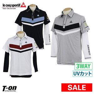 7f8fccac5d858 【30%OFF SALE】 ルコックスポルティフ ゴルフ ルコック le coq sportif GOLF メンズ ポロシャツ