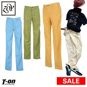 【30%OFF SALE】ゾーイ ZOY メンズ パンツ  ロングパンツ テーパードパンツ ロゴ刺繍 【送料無料】 2019 春夏 新作 ゴルフウェア
