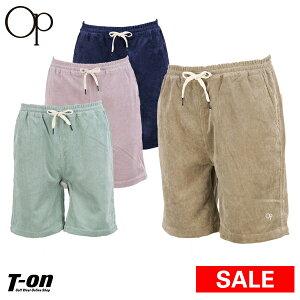 【30%OFF SALE】オーシャンパシフィック Ocean Pacific OP メンズ パンツ ショートパンツ ハーフパンツ イージーショーツ コーデュロイ素材 ウエストゴム入り  2019 春夏 新作 ゴルフウェア